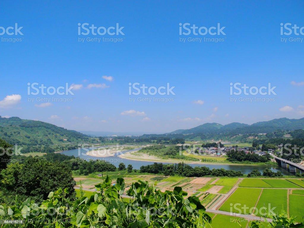 Japonesa village - foto de stock