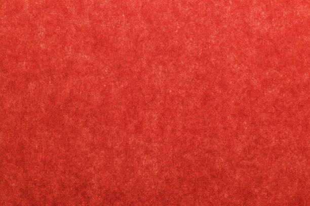 日本のヴィンテージ赤い色の紙の質感やグランジの背景 - 和紙 ストックフォトと画像