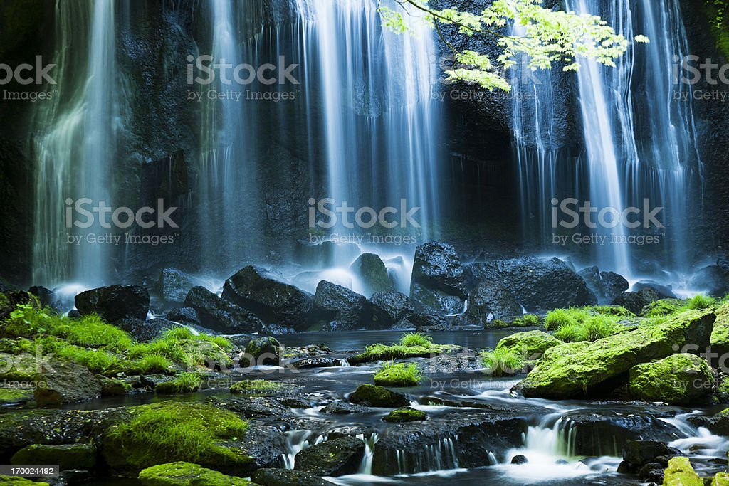 Cascadas de japonés - foto de stock