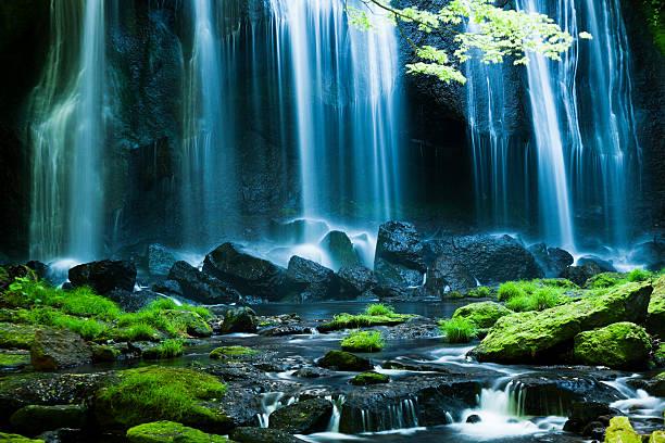 日本の滝 ストックフォト