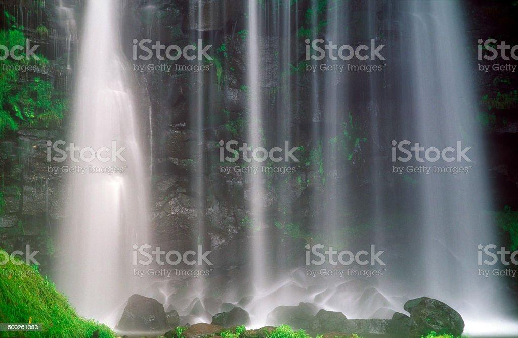 Japanese Waterfalls royalty-free stock photo