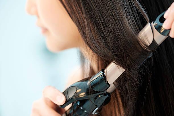 日本女性の美しさ - 美容室 ストックフォトと画像