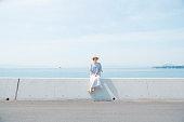 夏の日本人女性