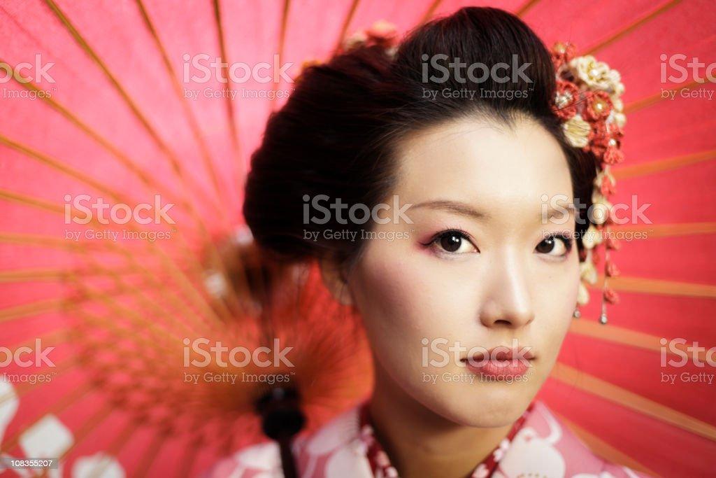 Japanese Woman royalty-free stock photo
