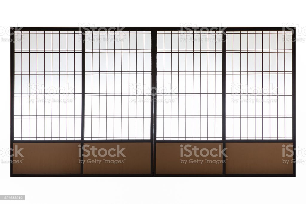 Japanese wood slid door isolated on white background stock photo ...  sc 1 st  iStock & Japanese Door Pictures Images and Stock Photos - iStock pezcame.com