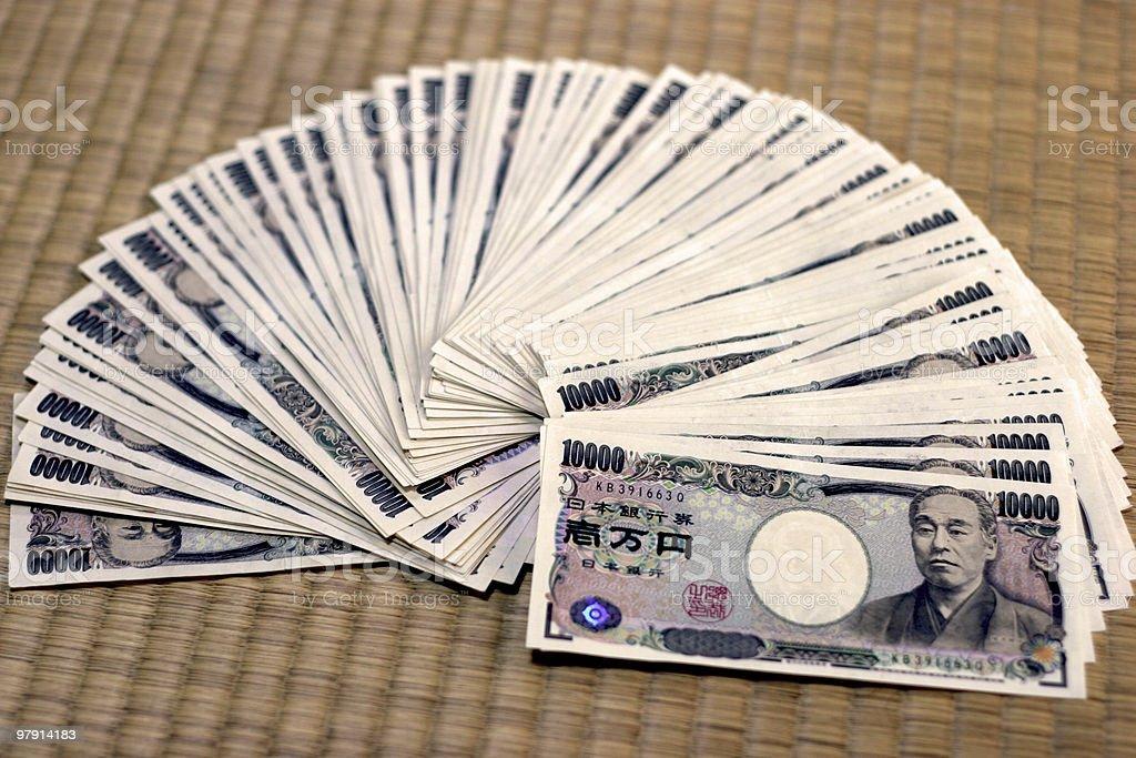 Japanese Yen 1 Milliontatami Stock Photo - Download Image Now - iStock