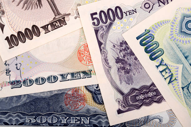 Japanischer Yen, ein geschäftlicher Hintergrund – Foto