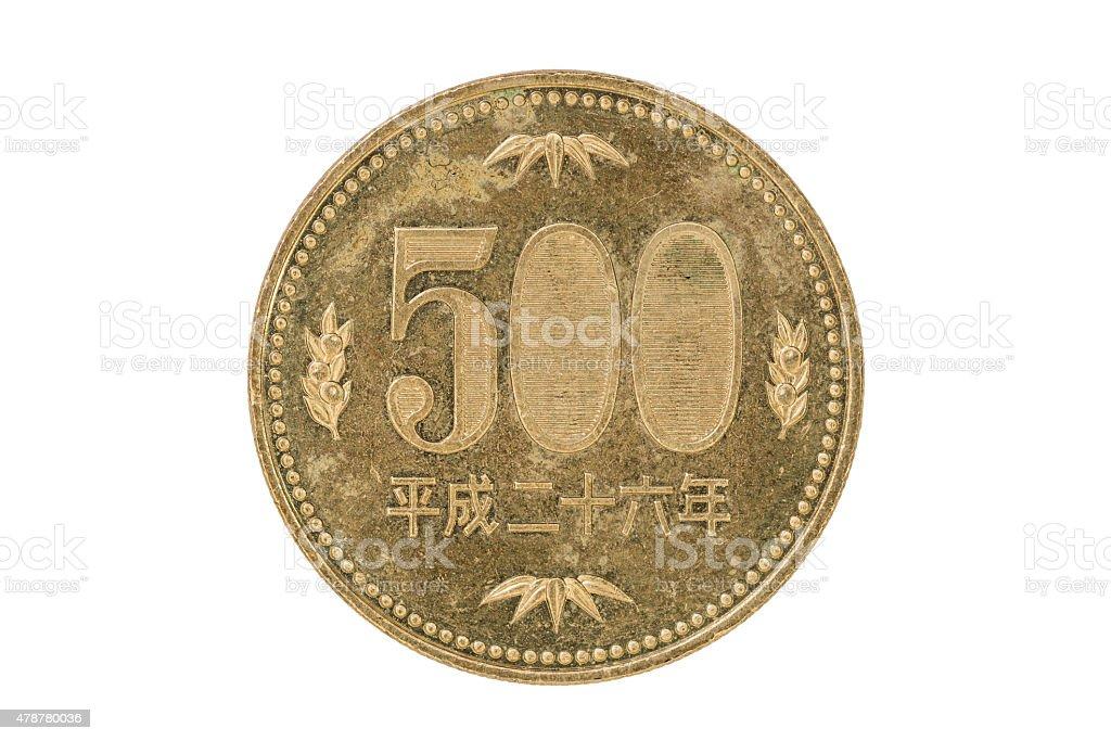59617663d5 Monete Da 500 Yen Giapponese - Fotografie stock e altre immagini di ...