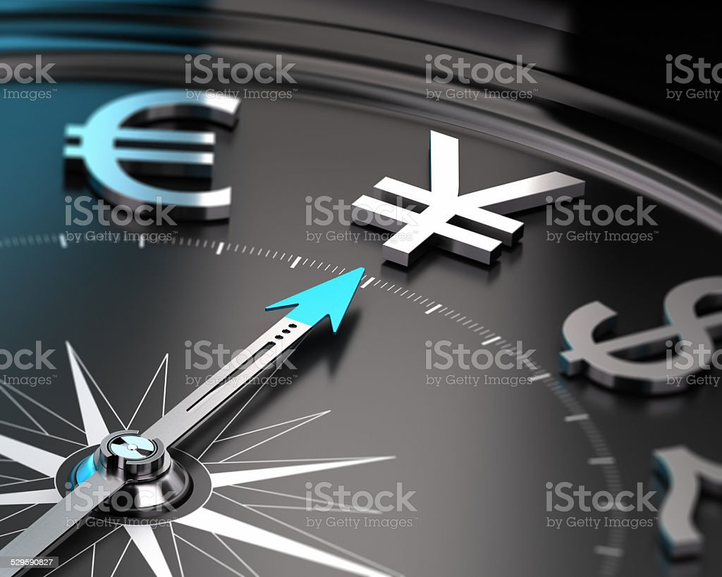 Japanese Yen Currency - JPY Concept stock photo