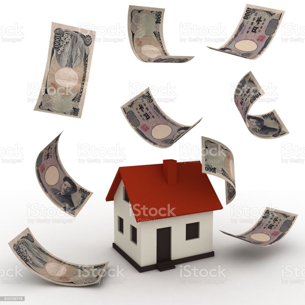 Japanese Yen Money House Mortgage Real Estate Stock Photo Download Image Now Istock