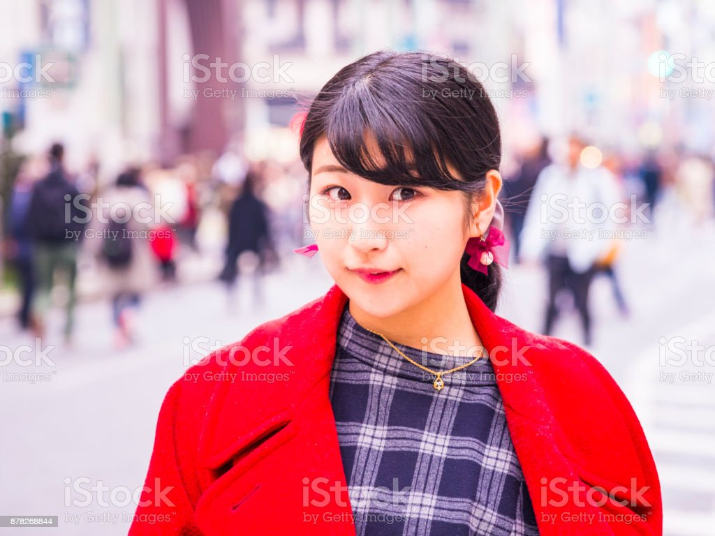 Lady japanese young in Utsuro