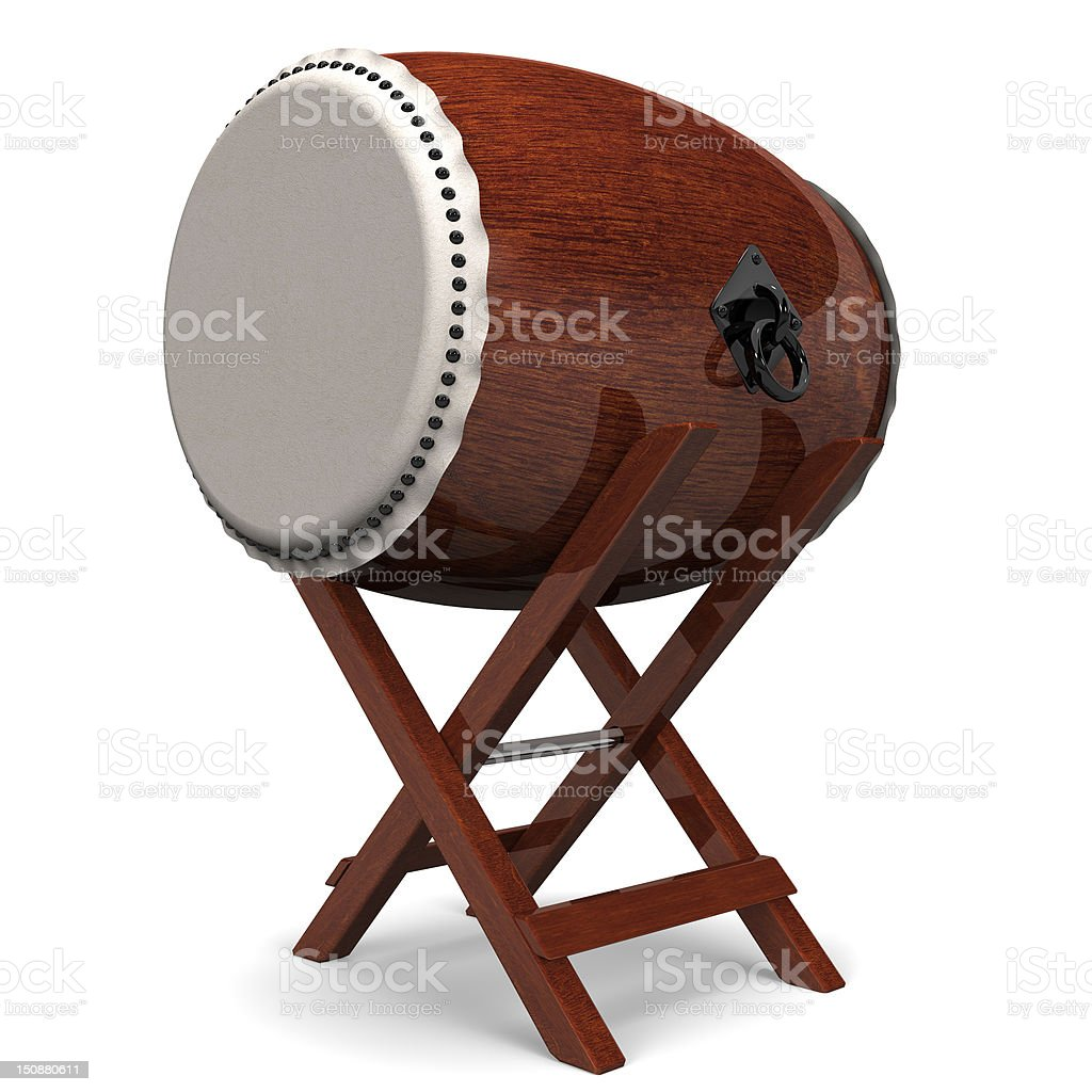 JapaneseDrum stock photo