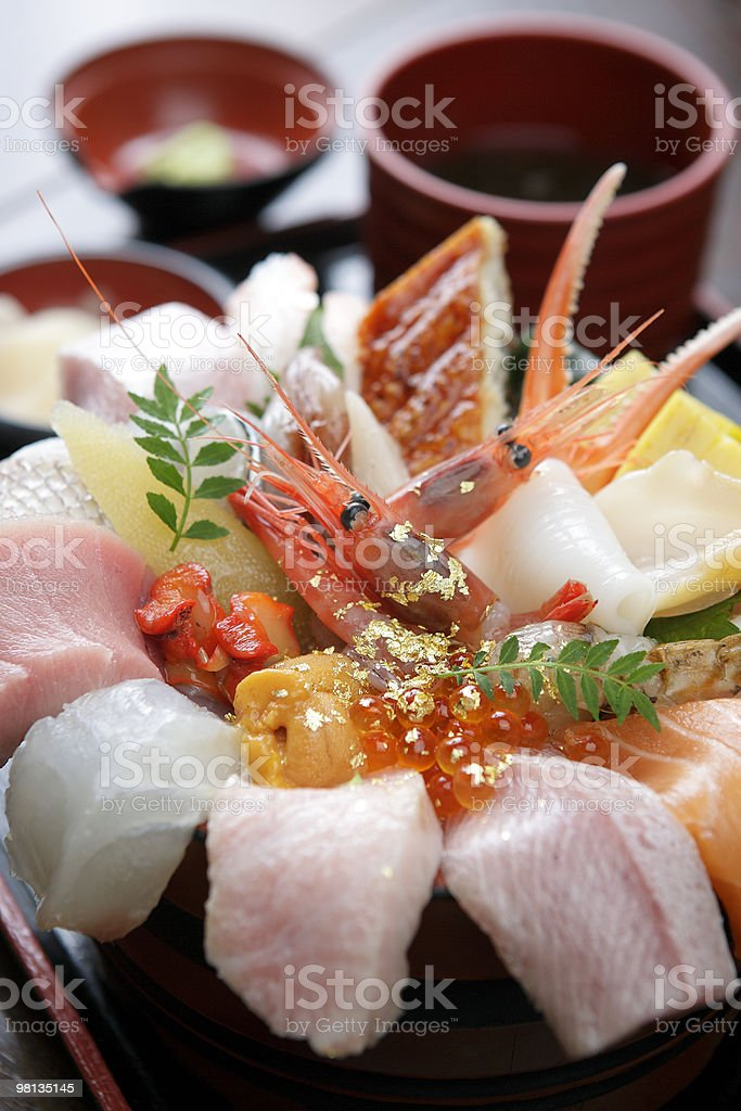 japanese-seafood royalty-free stock photo