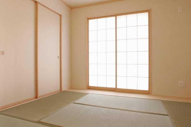 Japanese-style room stock photo