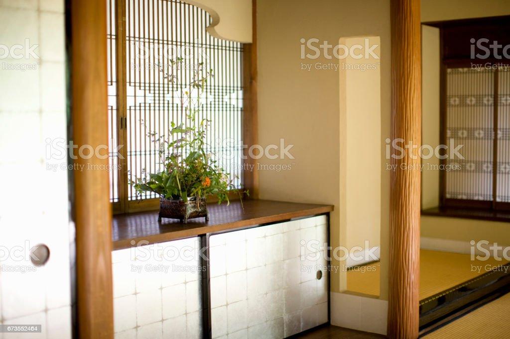 Japanese-style room royalty-free stock photo