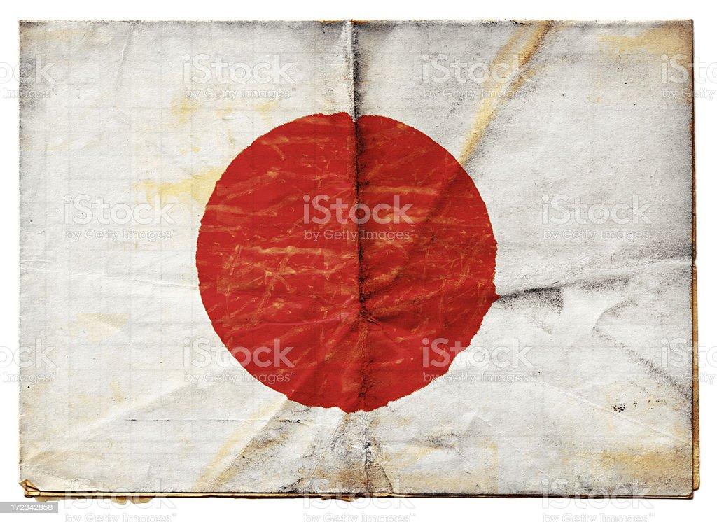 Japanesse Flag (XXL) royalty-free stock photo