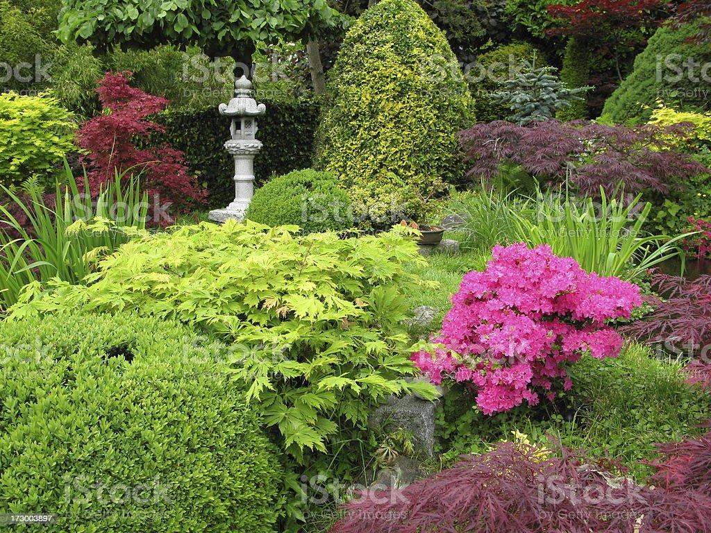 Japanischer Garten royalty-free stock photo