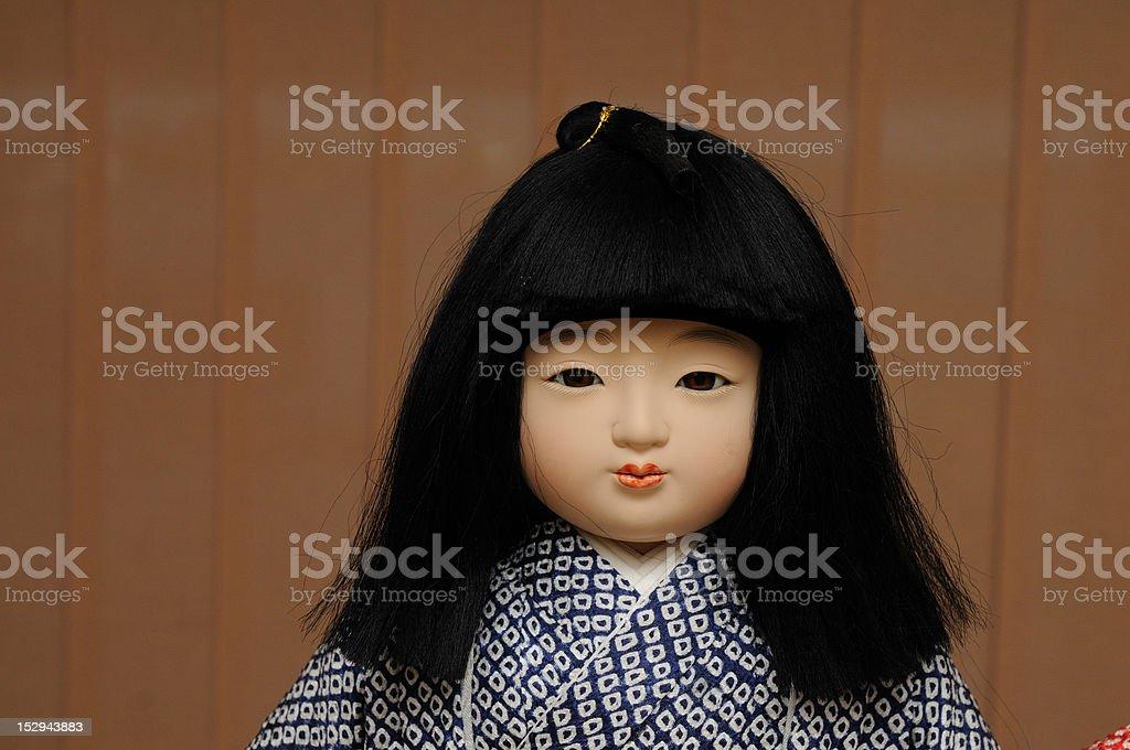 Japansese Dolls stock photo