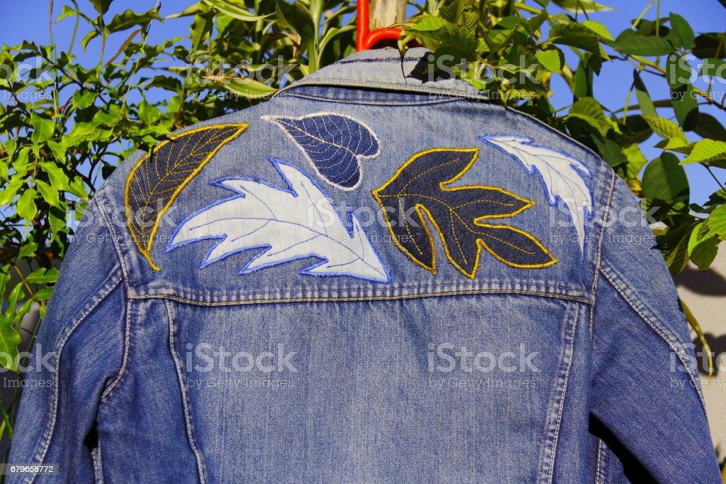 Jaqueta personalizada. stock photo