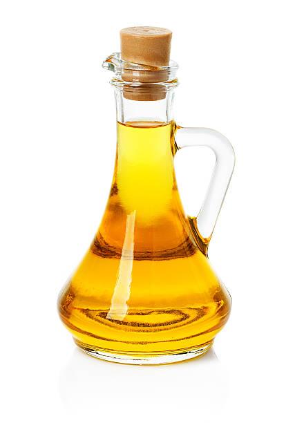 Pote, jarra con Oliva o aceite de girasol - foto de stock