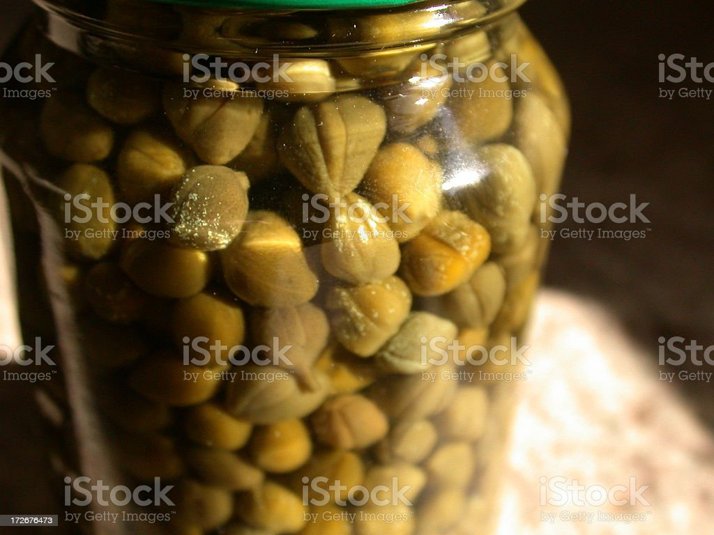 Jar O' Capers royalty-free stock photo