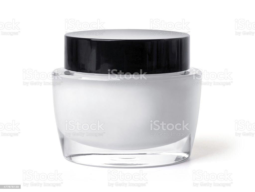 jar of cream royalty-free stock photo