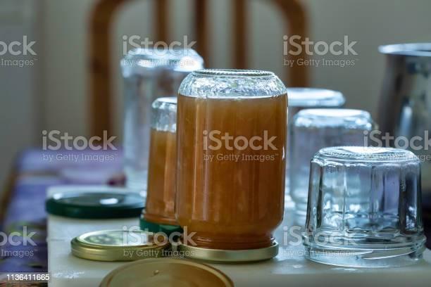 Jar Of Homemade Lemon Jam Stock Photo - Download Image Now