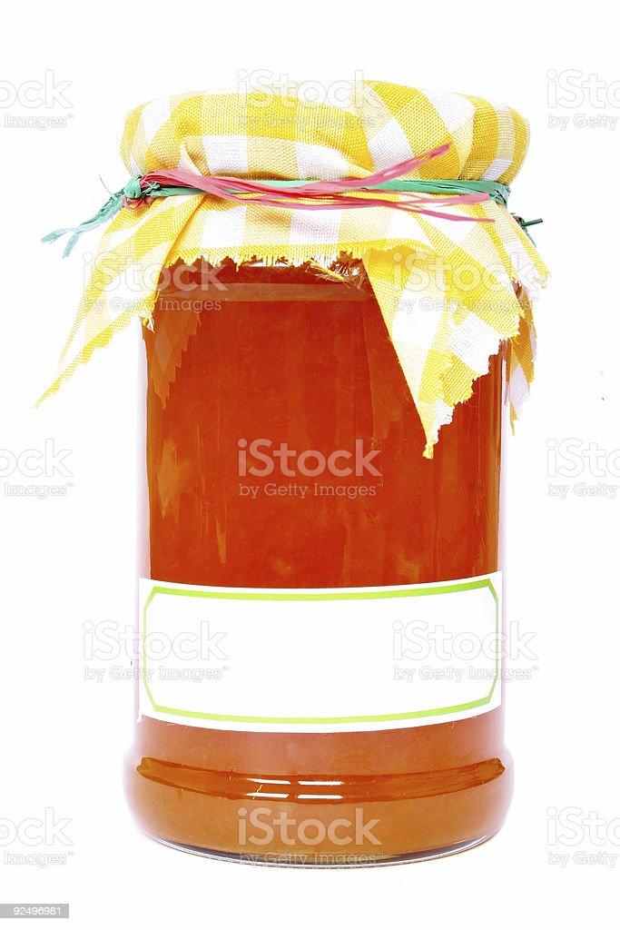 Jar of Marmalade royalty-free stock photo