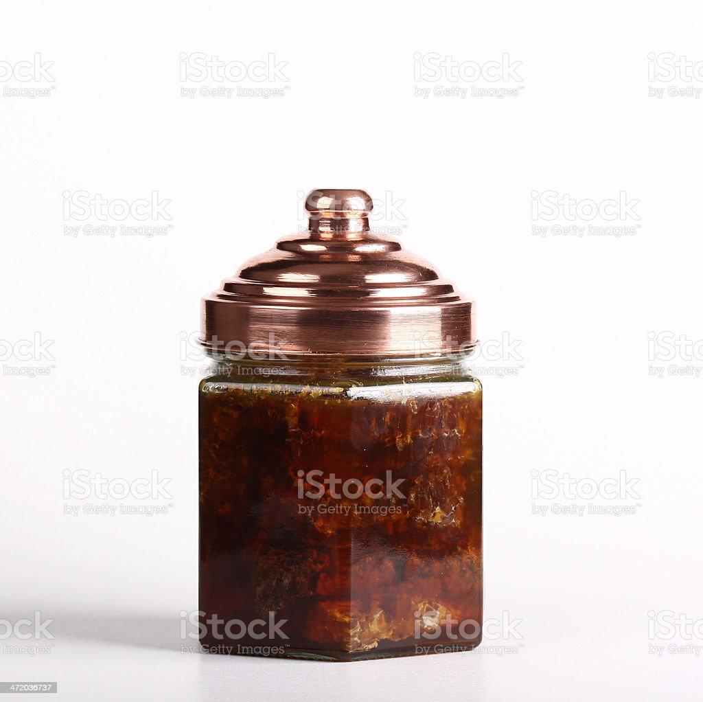 Jar of Naturel Honey, jar, honey, naturel royalty-free stock photo