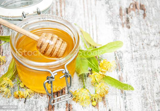 Jar With Honey Stock Photo - Download Image Now