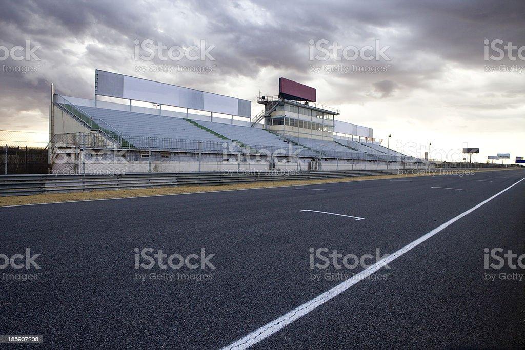 Jarama Racetrack. stock photo