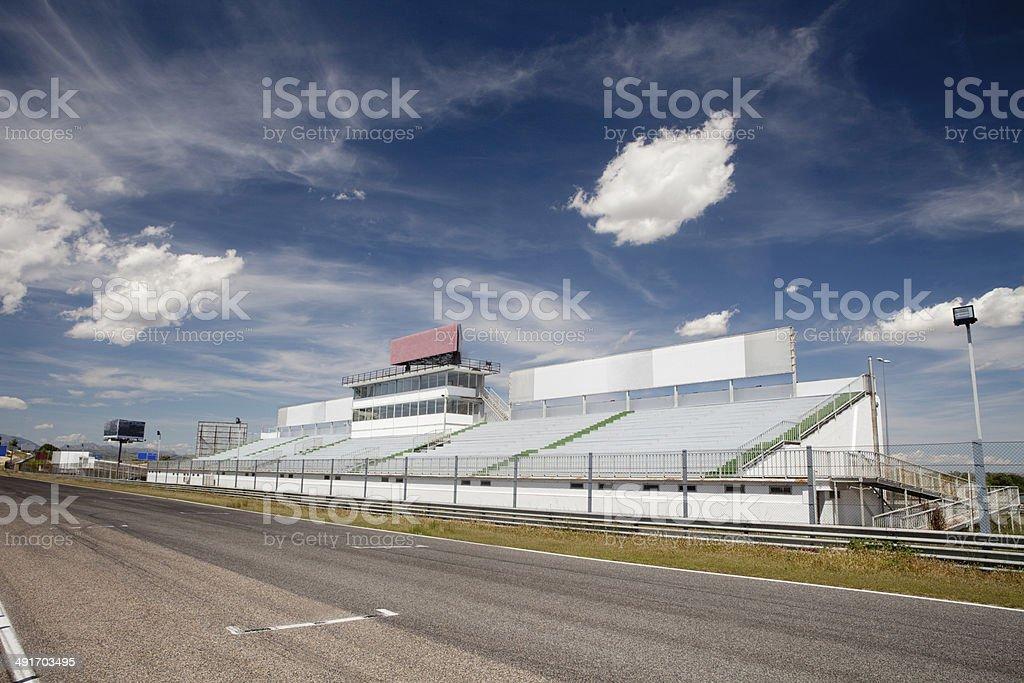Jarama racetrack stock photo