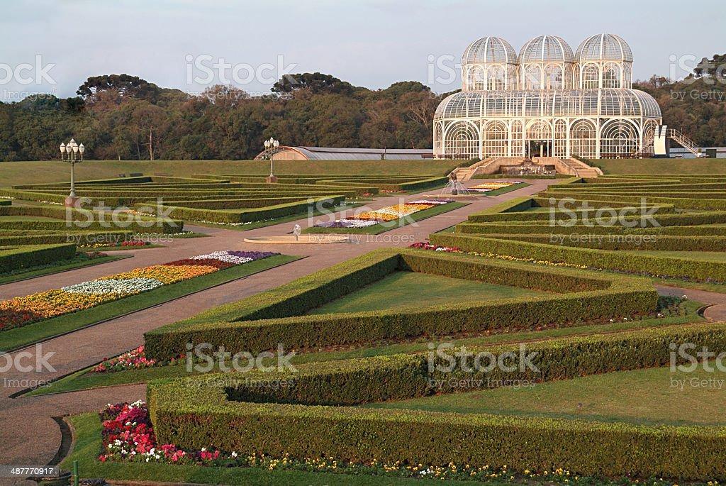 Jardim Botanico Curitiba stock photo