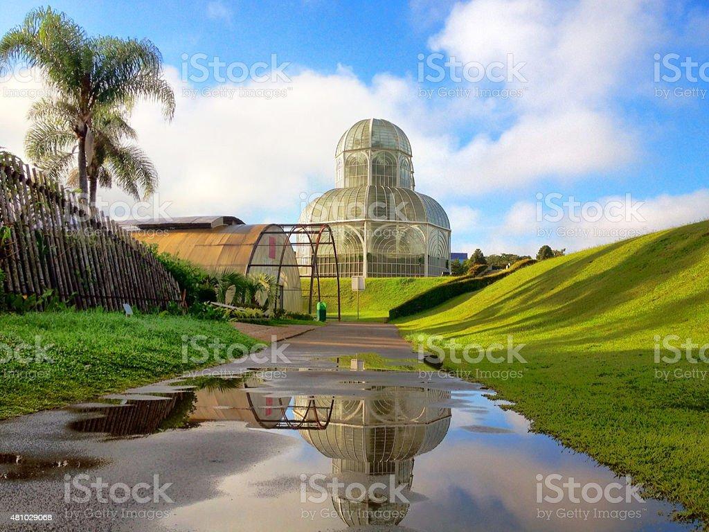 Jardim Botânico, Curitiba, Paraná, Brasil stock photo