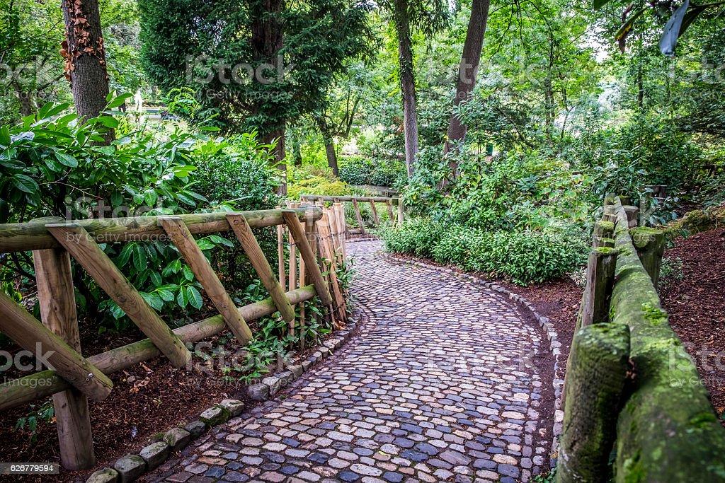 Jardin Des Plantes Public Garden Park In Toulouse France ...