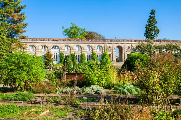 Jardin public garden in Bordeaux stock photo