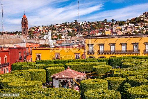 Jardin Town Tree Square San Miguel de Allende Mexico.