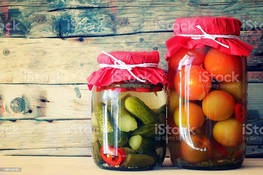 Jars royalty-free stock photo