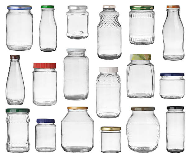 jars set stock photo