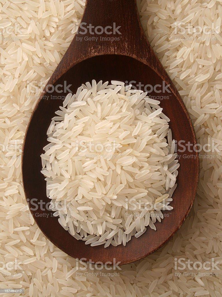 Jasmine rice stock photo