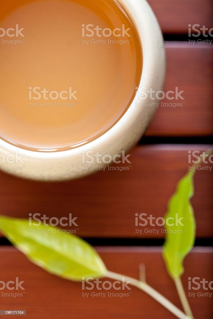 Jasmine Tea. royalty-free stock photo