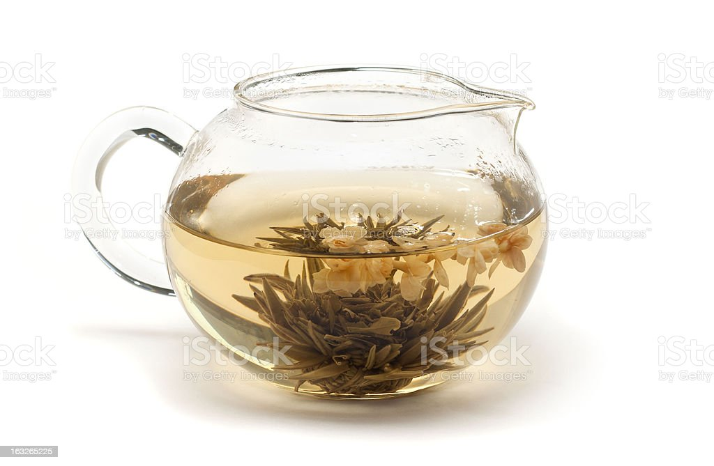 Jasmine tea . stock photo