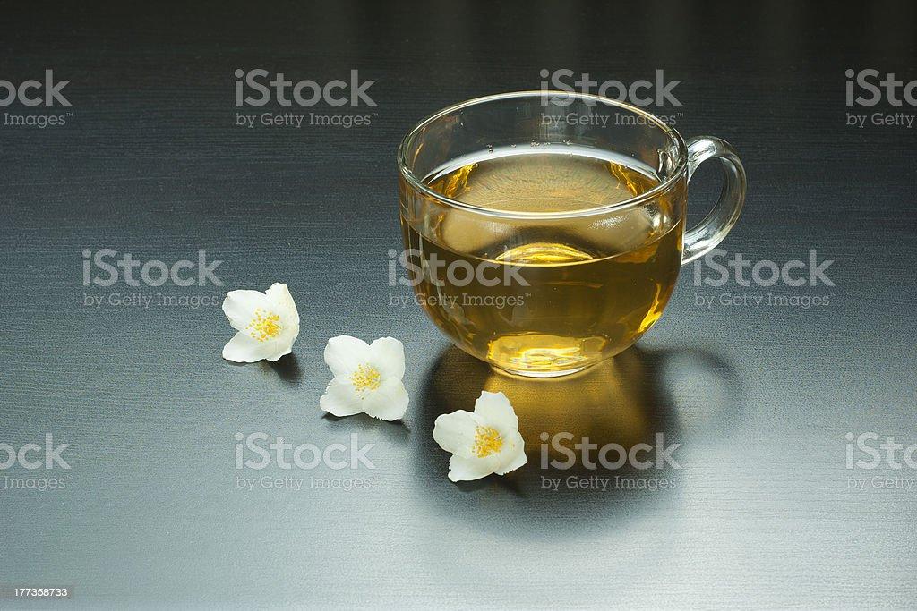 Jasmine tea royalty-free stock photo