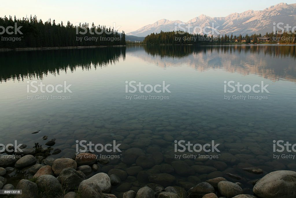 jasper lodge royalty free stockfoto