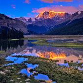 Jasper National Park in Alberta Canada