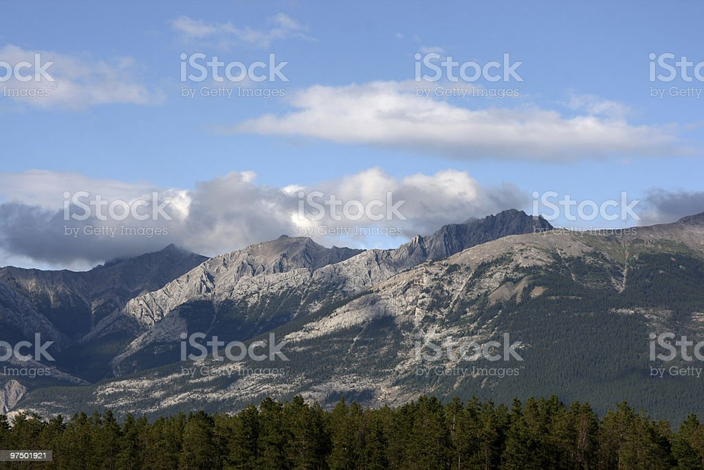 Jasper National Park royalty-free stock photo