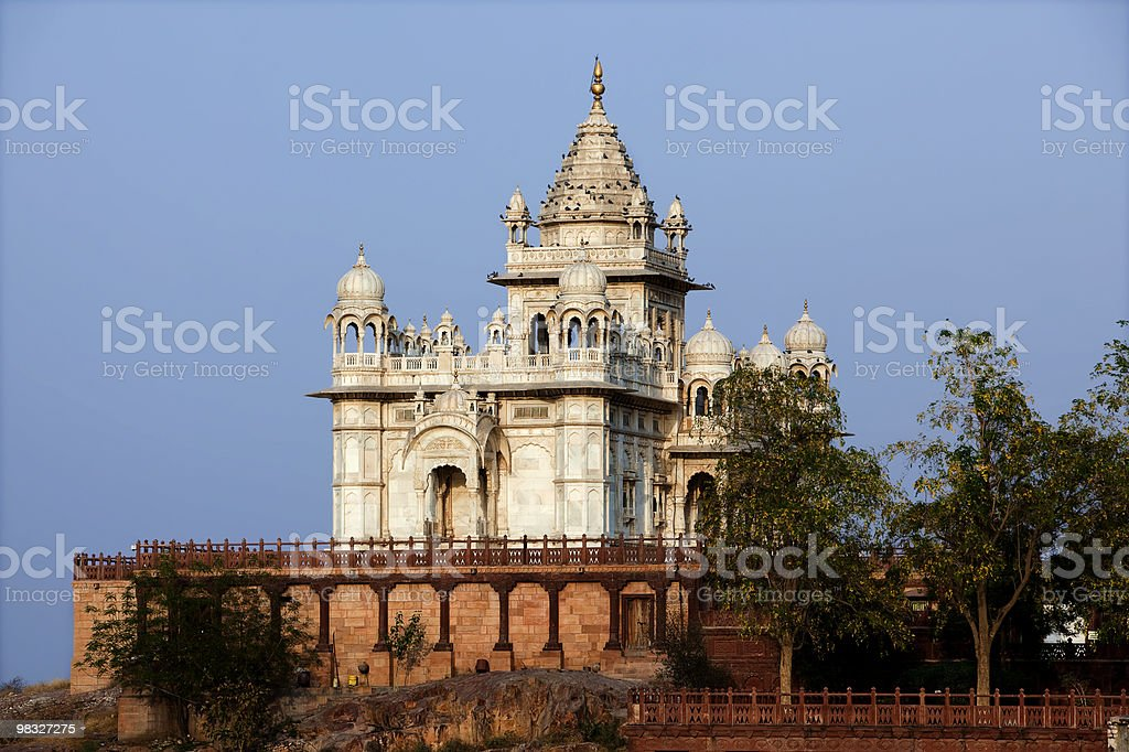 jaswant thada temple jodhpur rajasthan india royalty-free stock photo