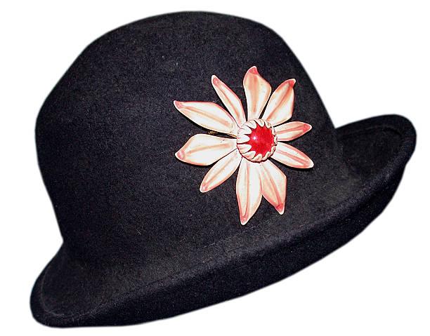 Jaunty hat stock photo
