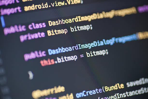 исходный код java - источник стоковые фото и изображения