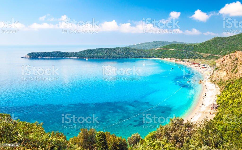 Jaz beach stock photo